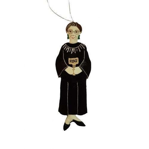 Ruth Bader Ginsburg RBG Ornament