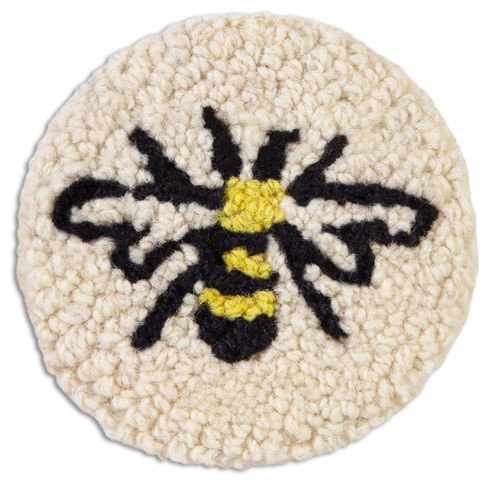 Bee Hooked Coaster Set of 4