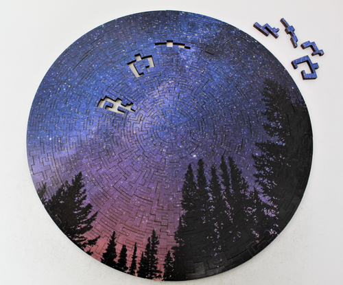 Milky Way at Night 330 Piece Jigsaw Puzzle