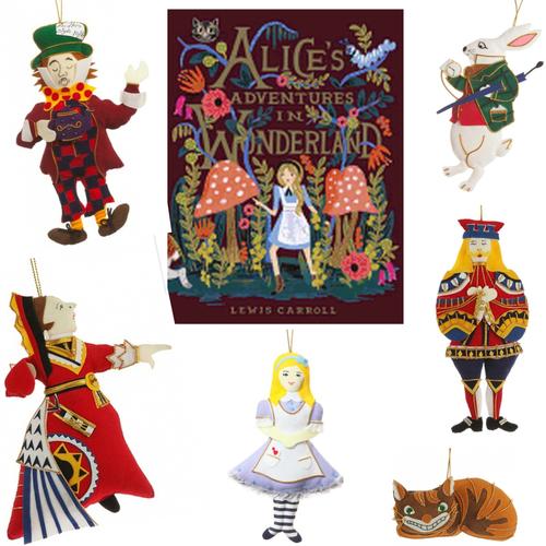 Alice in Wonderland Gift Set Bundle