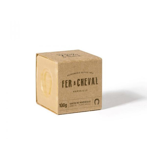 Genuine Marseille Soap Unscented 100g Cube