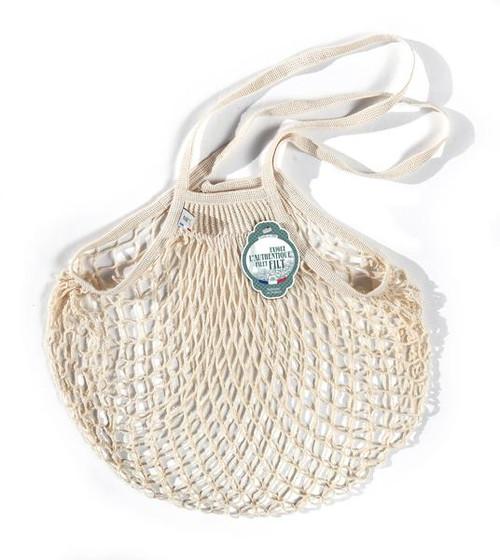Filt MEDIUM Net Bag (Shopper) in WHITE