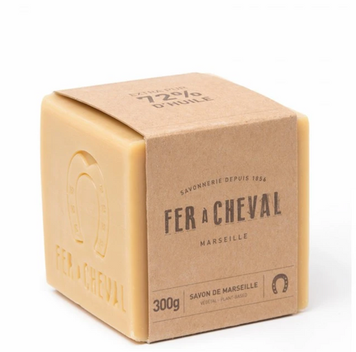 Fer À Cheval Genuine Marseille Soap - UNSCENTED 300G CUBE