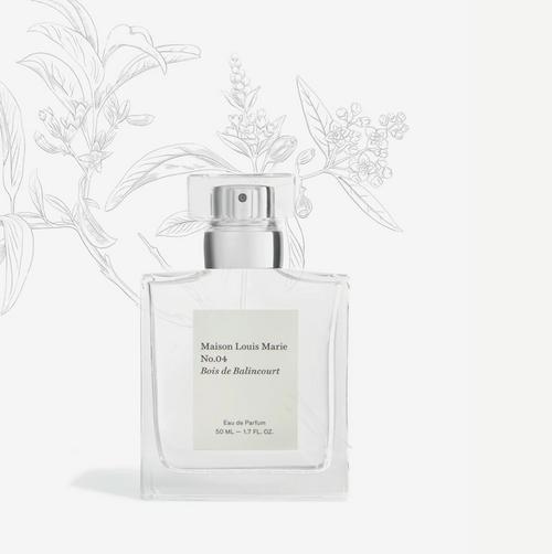 Eau de Parfum No.04 Bois de Balincourt Maison Loius Marie