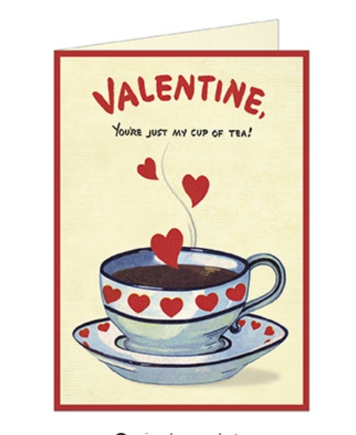 Valentine Cup of Tea Card