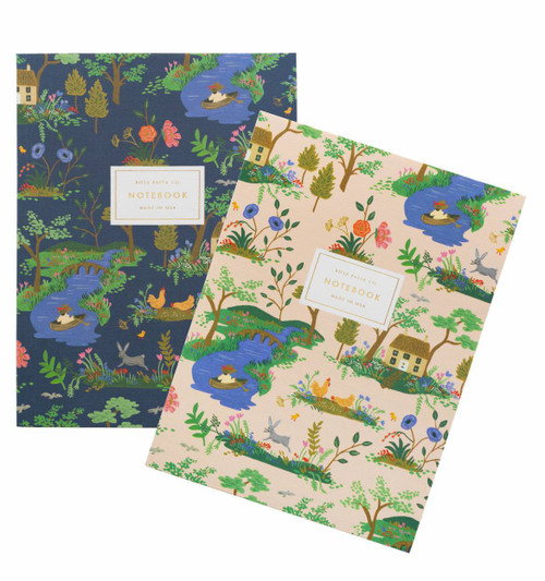 Garden Toile Notebook