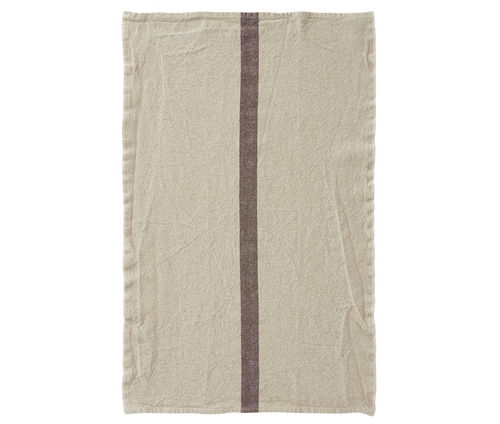 100% Linen Kitchen Tea Towel in Natural