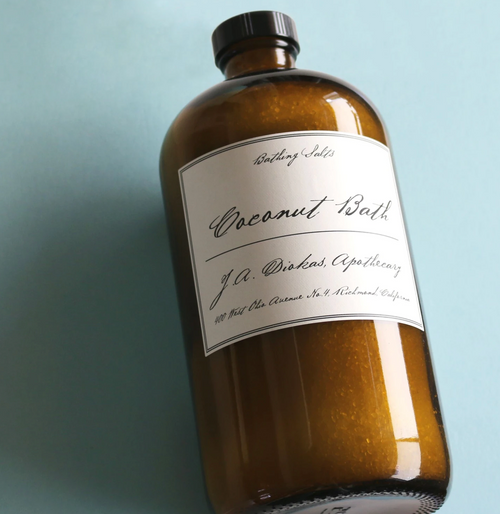 Apothecary Coconut Bath 32 oz (approx. 10 Bath)