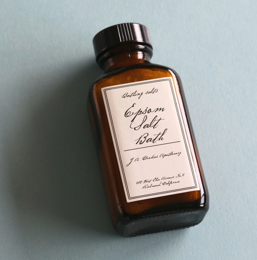 Apothecary Epsom Bath Mini 3 oz (approx. 1 Bath)