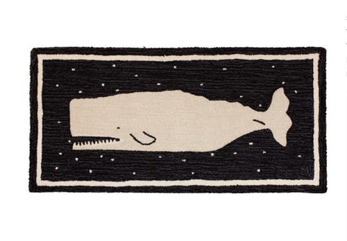 Starry Night Whale Rug 2' x 4'