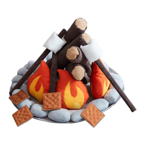 Campout Camp Fire + S'mores