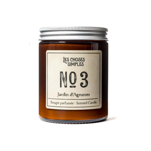 No. 3 Jardin d'Agrumes (Citrus) Full Size Candle