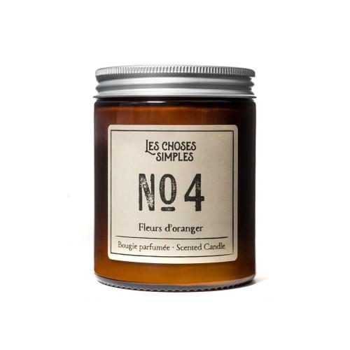 No. 4 Fleurs d'Oranger (Orange Blossoms) Full Size Candle