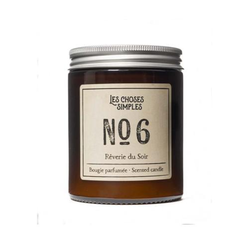 No. 6 Reverie du Soir (Back Amber + Lavender) Full Size Candle