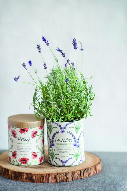 Lavender Waxed Planter