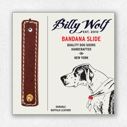 Leather Bandana Slide