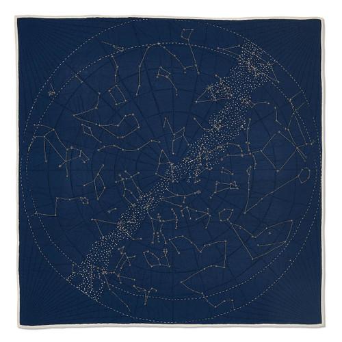 Constellation Quilt in Navy