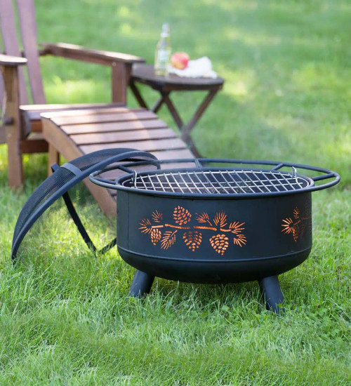 Pinecone Fire Pit