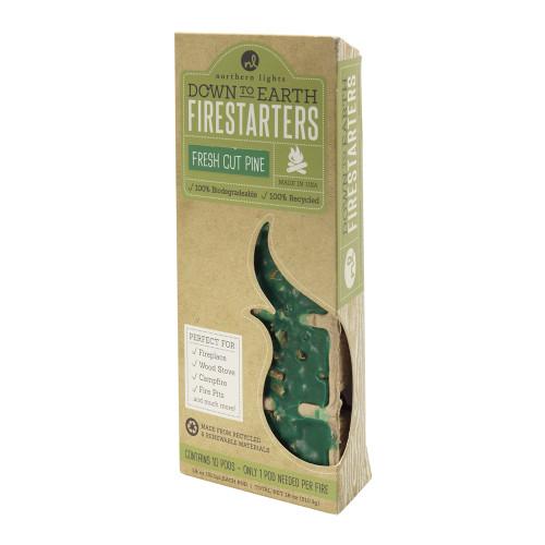 Down to Earth Firestarters Fresh Cut Pine