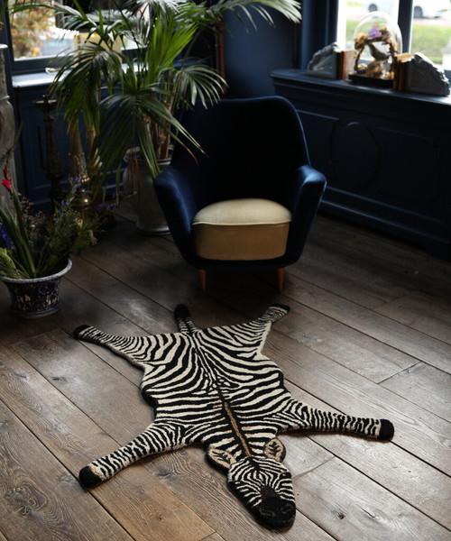 Stripey Zebra Rug in Large