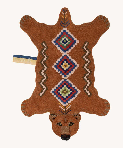 Berber Grizzly Bear Rug in Large