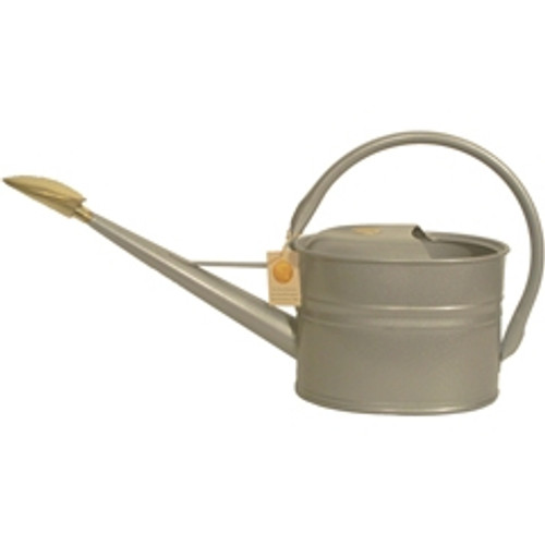 Haws Slimcan Galvanized 1.3 Gallon Watering Can (5 Liters)