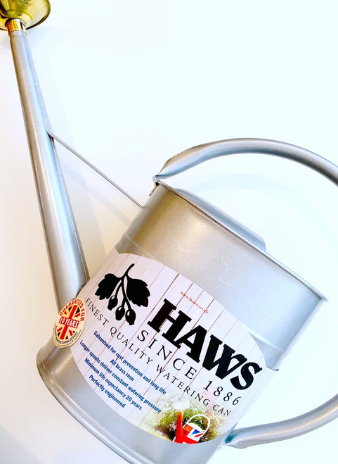 Haws Slimcan Galvanized 2 Gallon Watering Can