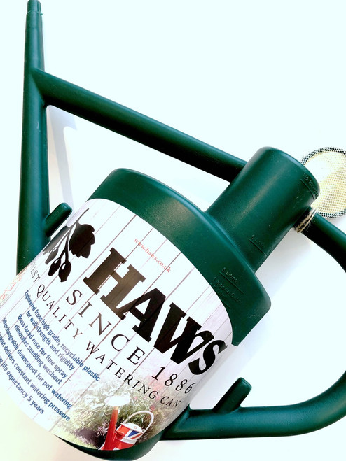 Haws Practician Watering Can 6 Liters Plastic Green