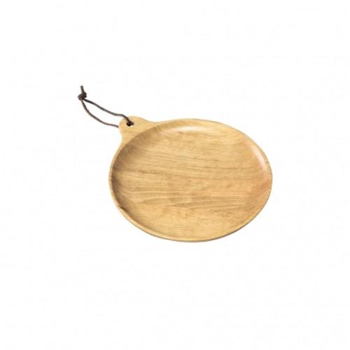 Birch Round Small Plate