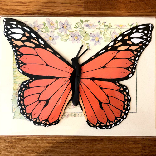 Monarch Butterfly Mobile Card