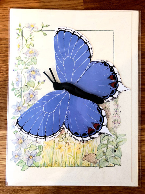 Eastern Tailed Blue Butterfly Mobile Card