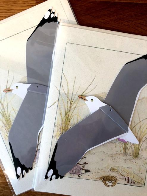 Herring Gull Bird Mobile Card