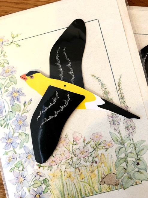 Goldfinch Bird Mobile Card