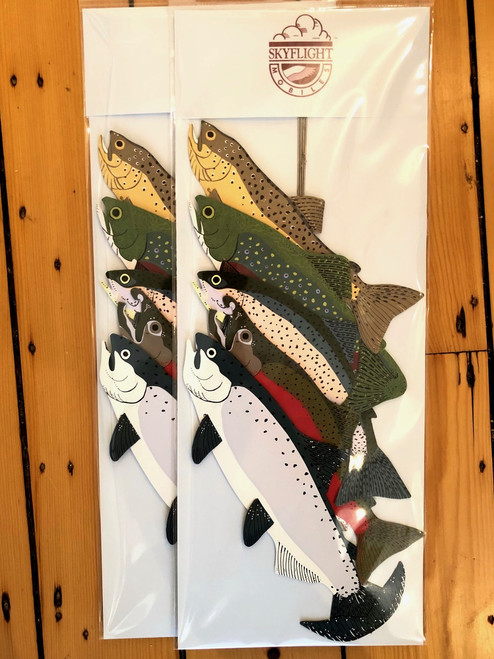 Trout and Salmon Fish Mobile