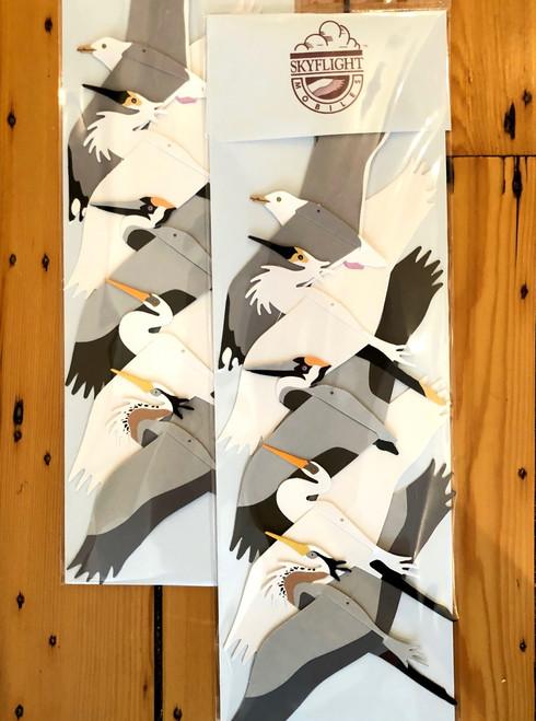 Coastal Birds Mobile