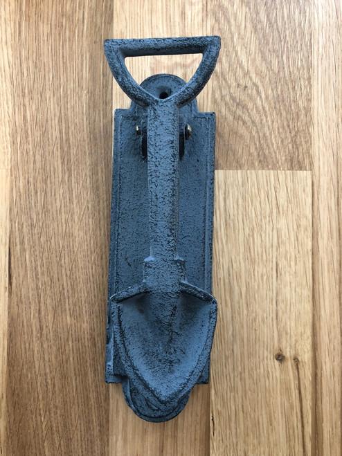 Iron Door Knocker in Shovel