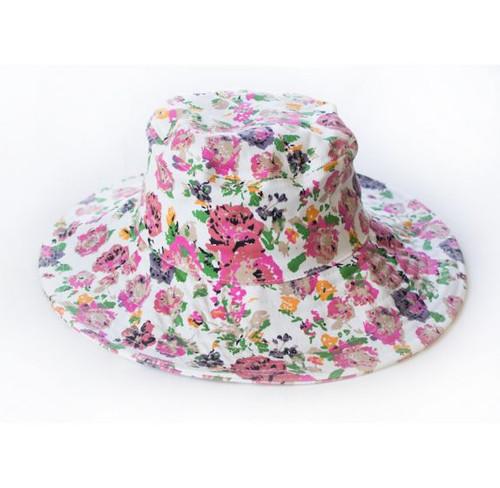 Floral Cotton Sun Hat