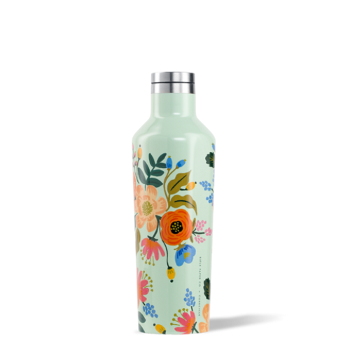 Corkcicle Rifle Paper Floral Hot Cold Canteen in Lively Floral