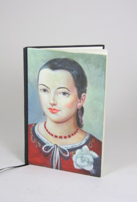 Lady In Red Journal Notebook