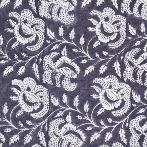 Queen Quilt in Bandana (Dark Blue Bandana Print)
