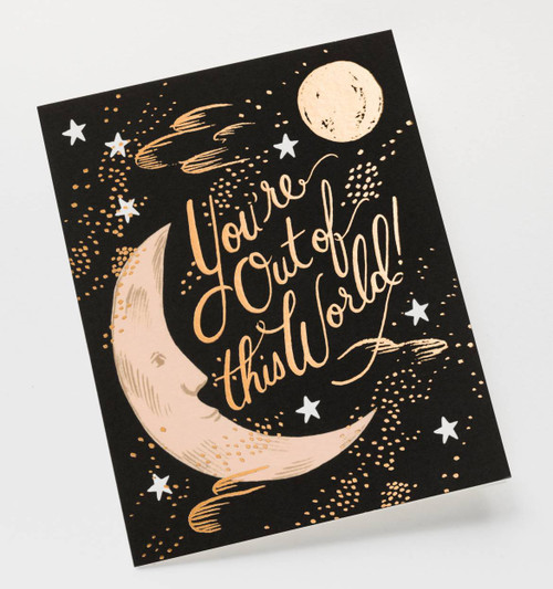 Your Out Of This World Card BOXED SET of 8 CARDS