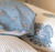 Single King Pillowcase in Big Floral  (One)