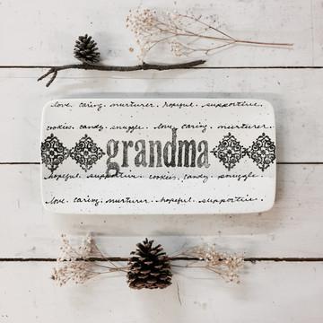 Cursive Family Name Plate