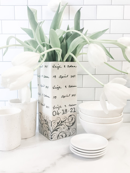 Personalized Vase for Flowers