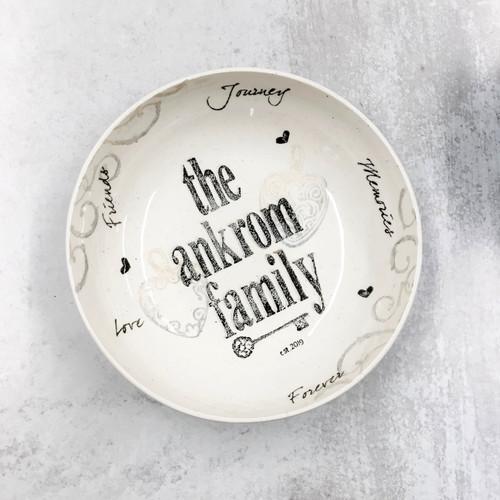Family Name Bowl