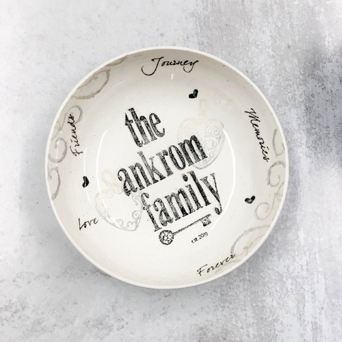 Family Name Bowl