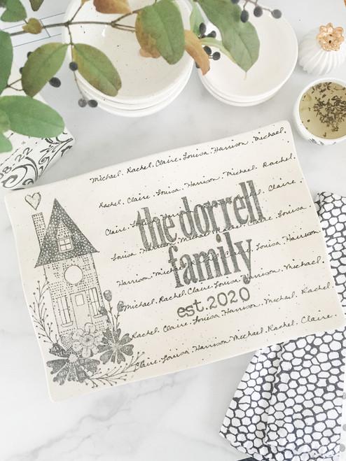 Home Wedding Invitation Flare