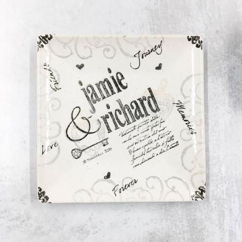 Name Wedding Platter