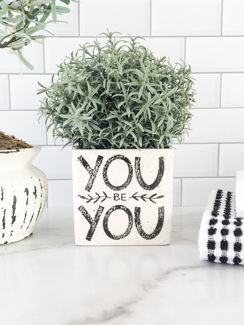 You Be You Herb Vase