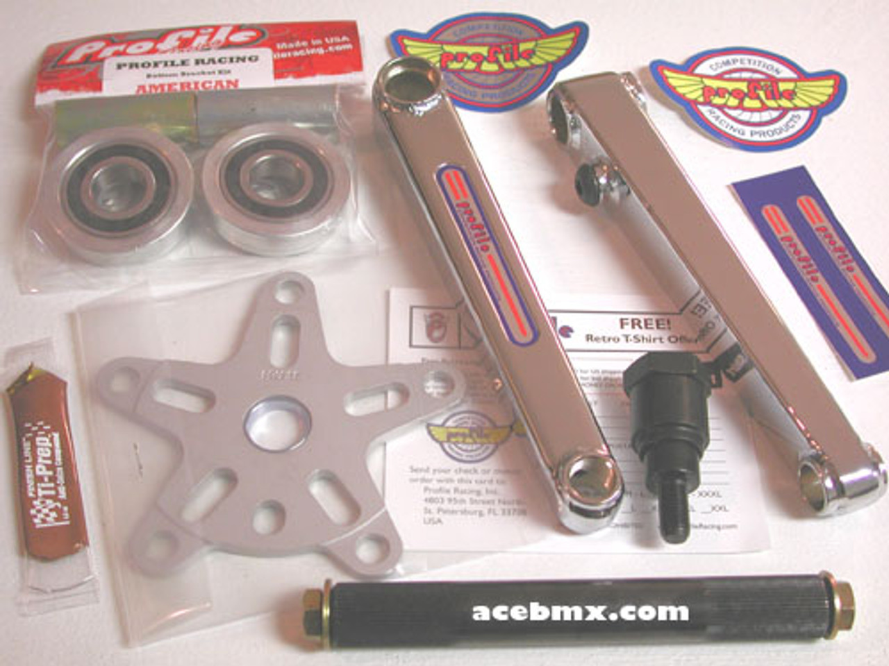 Profile Racing Mid Bottom Bracket Kit